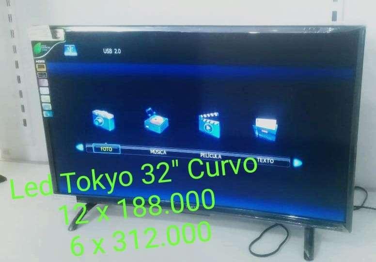 Tv led tokyo 32 pulgadas curvo - 0