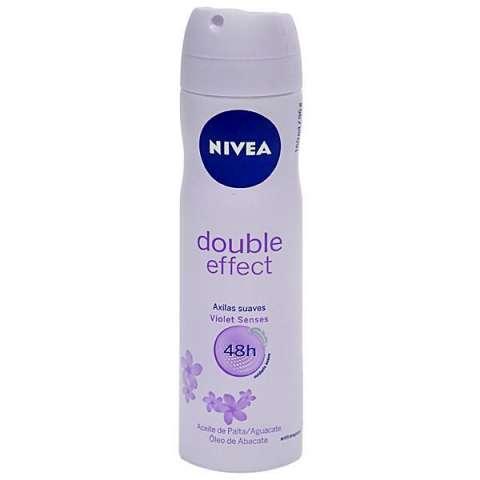 Desodorante NIVEA Double Effect Violet Sense Femenino 150 ml