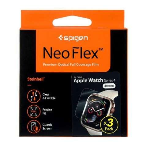 Lamina para Apple Watch de 40 mm Spigen Neo Flex 4PK01057-2