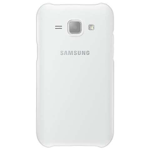 Funda para Galaxy J1 Samsung FLIP COVER EF-PJ100BWEGWW - Blanco
