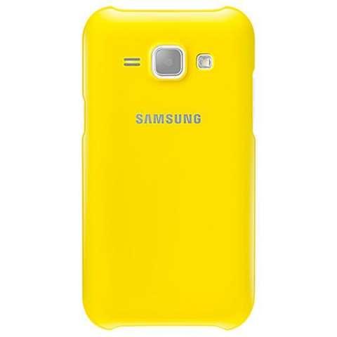 Funda para Galaxy J1 Samsung Protective Cover EF-PJ100BYEGWW - Amarillo