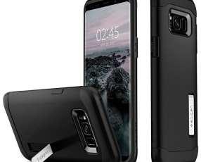 Funda para Galaxy S8+ Spigen 571CS21122 - Negra
