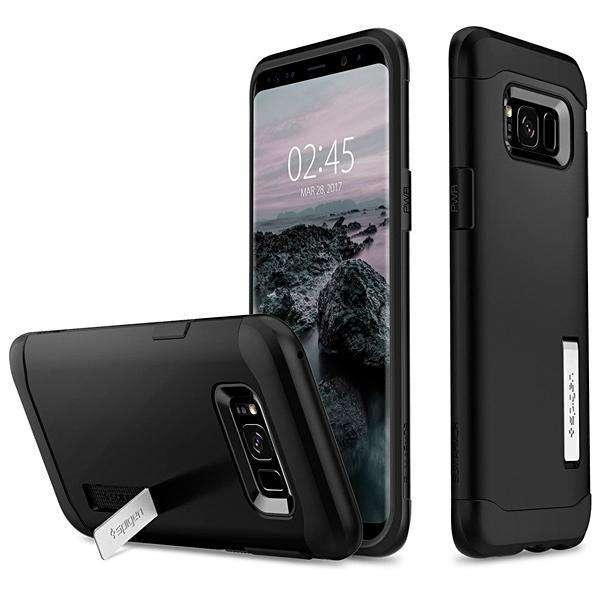Funda para Galaxy S8+ Spigen 571CS21122 - Negra - 0