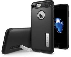 Funda para iPhone 8 Plus y iPhone 7 Plus Spigen 043CS20648 - Negra