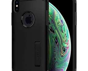 Funda para iPhone XS y iPhone X Spigen 063CS24518 - Negra