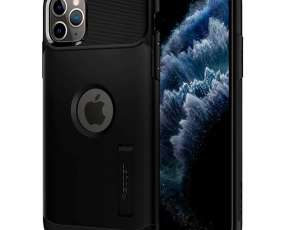 Funda para iPhone 11 Pro Max Spigen Slim Armor 075CS27055 - Negra
