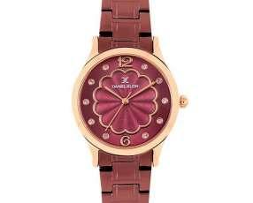 Reloj Femenino Daniel Klein DK11990-6 - Morado|Rosado Gold
