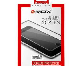 Película para iPhone 6 MOX Tenpered Glass 5D - Transparente|Negra