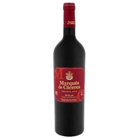 Vino Marqués de Cáceres Crianza 2012 750 ml