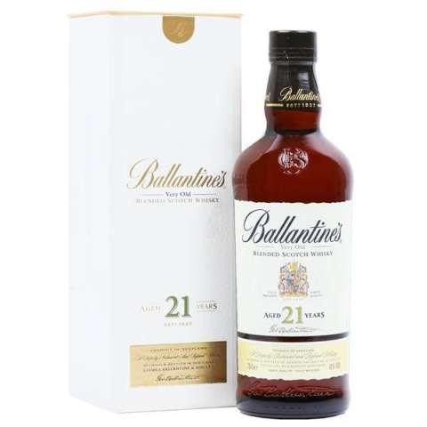Whisky Ballantine's 21 años 700 ml