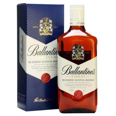 Whisky Ballantine's Finest 1 Litro - Con Caja