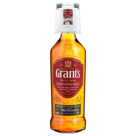Whisky Grant's Famile Reserve 1 Litro + Vaso de Vidrio