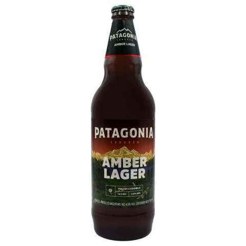 Cerveza Patagonia Amber Lager 730 ml