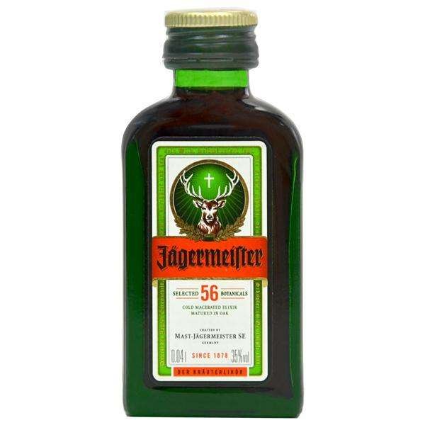 Licor Jägermeister 40 ml - 0