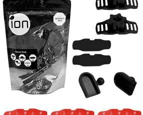 Kit de Acessórios para Cámaras de Acción iON Mount Pack 5007 - Negro