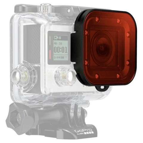 Filtro de Buceo GoPro Red Dive Filter ADVFR-301 - Rojo|Negro