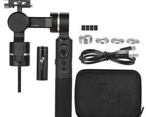 Cardán Feieutech g360 de 3 ejes con bluetooth para cámara de acción - negro