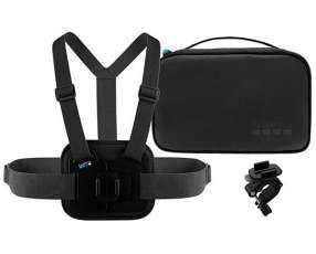 Kit deportivo para Cámaras de Acción GoPro AKTAC-001 - Negro