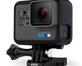 Cámara de Acción GoPro Hero 6 Black 12MP 4K con Wi-Fi y Comando de Voz - Negra