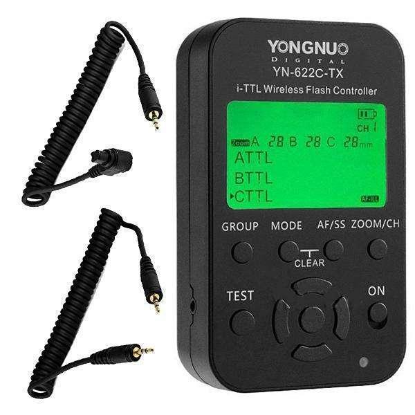 Control para Flash Yongnuo YN622C-TX - 0
