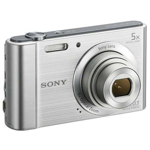 Cámara Compacta Sony CyberShot DSC-W800 20.1MP Tela de 2.7