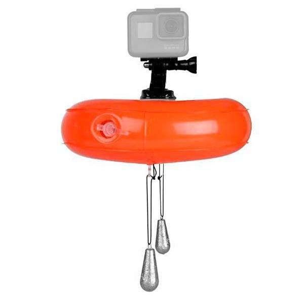 Flotador de Ar para Cámaras GoPro Hero 5|6 Telesin GP-FLT-T02 con 20 cm de Diâmetro - 0
