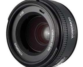 Lente para Cámaras Nikon Yongnuo YN40MM F2.8N de 58mm con Apertura de Diafragma F|22