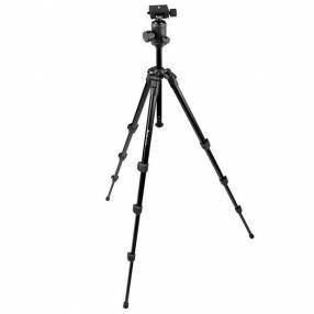 Trípode Weifeng WT-531B Professional con 152 cm para Cámaras Fotográficas - Negro
