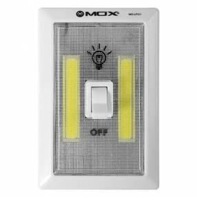 Lámpara LED de Emergência MOX MO-LP01 de 3W a Pila - Blanco