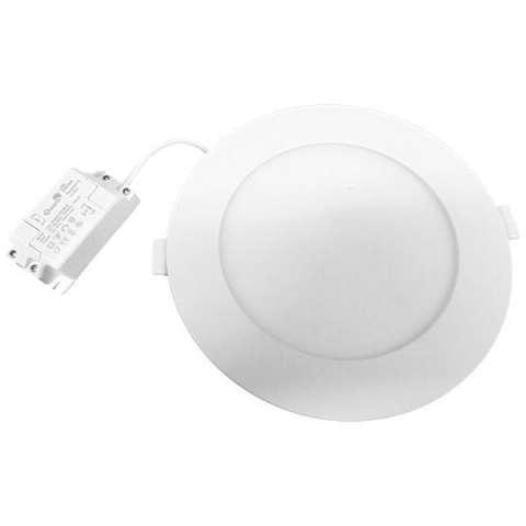 Lámpara LED Quanta Raqeen 18 RM906R de 18W de 6.500K Bivolt - Blanca