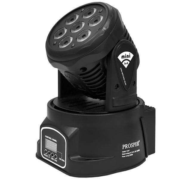 Refletor LED Prosper P-2007 1.000 watts Bivolt - Negro - 0