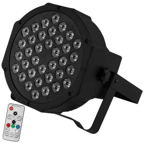 Refletor LED Prosper P-136 3.600 watts Bivolt - Negro