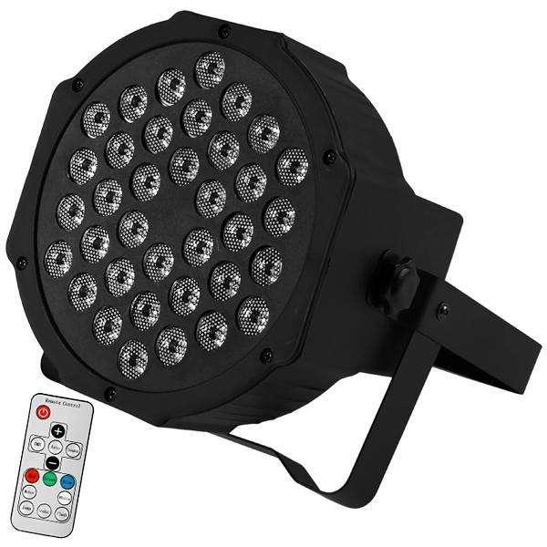 Refletor LED Prosper P-136 3.600 watts Bivolt - Negro - 0