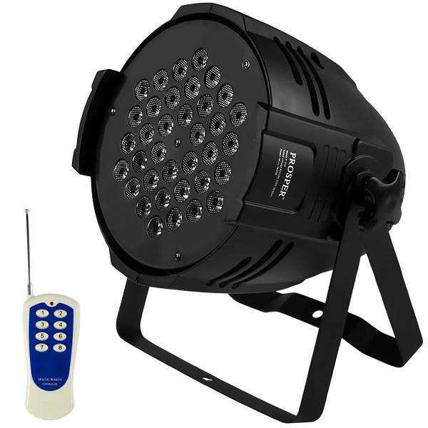 Refletor LED Prosper P-236 4.600 watts Bivolt - Negro - 0
