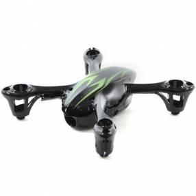 Carcasa X4 H107-A22 para Drone Hubsan X4 H107C - Negro Verde