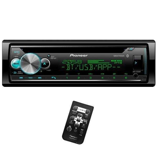 Auto radio Pioneer DEH-X5000BT Bluetooth USB - Negro - 0
