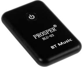 Transmisor Bluetooth Prosper BLU-03 para hasta 20 m - Negro