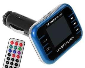 Transmisor para Carro Roadstar RS-44FM con Frecuencias FM|USB|SD - Negro|Azul