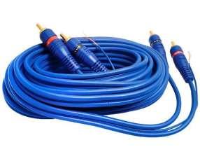 Cable RCA MegaStar RCA5 de 5 Metros - Azul