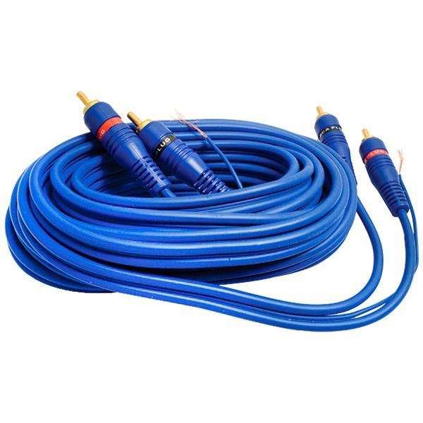 Cable RCA MegaStar RCA5 de 5 Metros - Azul - 0