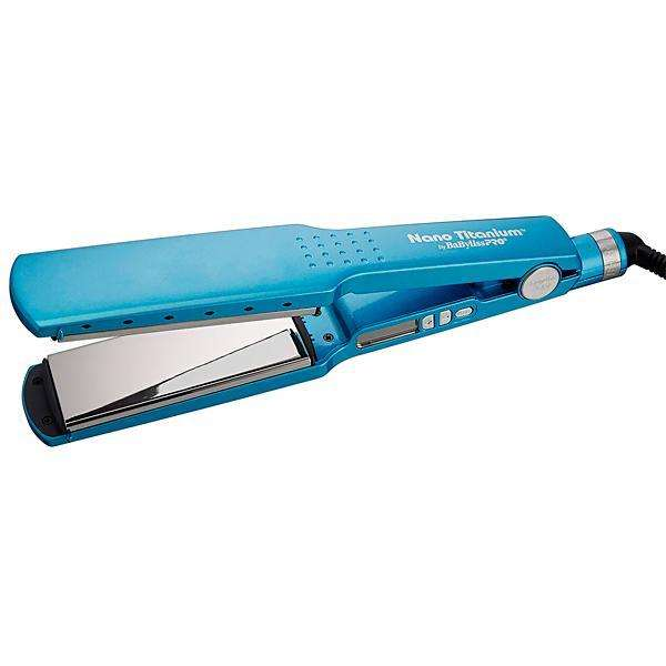 Planchita para Cabello BaBelissPRO Nano Titanium BABNT2094TUZ 66 watts 220V - Azul - 0