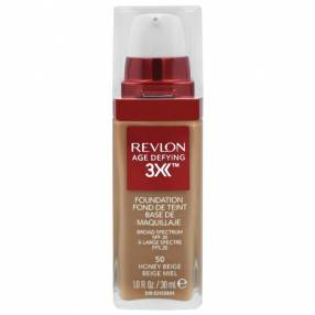 Base Revlon Age Defeing 3X Foundation FPS 20 30 ml - 50 Honee Bege