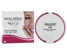 Polvo Facial Miss Rose Moisture Whitening 7003-146N - Cor 02