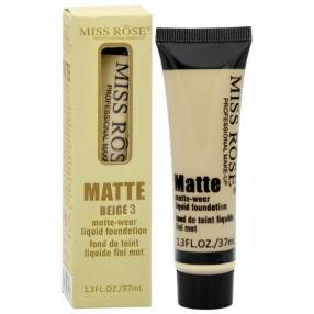 Base Miss Rose Matte 7601-039N 37 ml - Bege 03