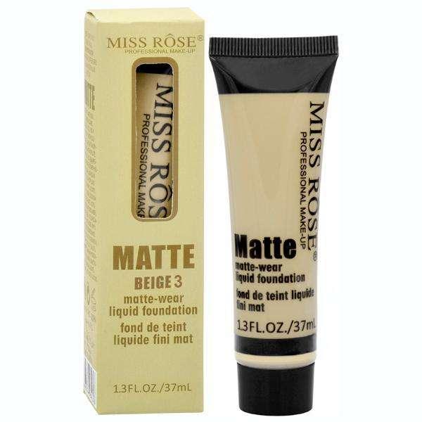 Base Miss Rose Matte 7601-039N 37 ml - Bege 03 - 0