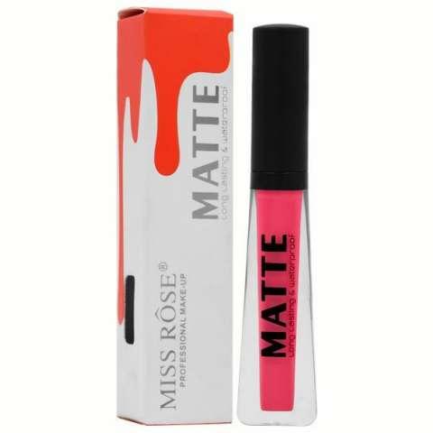 Gloss Miss Rose Matte Long Lasting & Waterproof - Cor 42