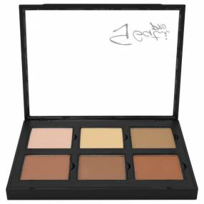 Paleta de Contorno Gati Paris Powder Pro Kit 6 Cores - Dark