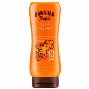 Bronceador Hawaiian Tropic Carrot FPS 10 240 ml
