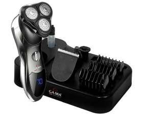 Afeitadora Gama GSH1000 3 cabezas recargable Bivolt negro
