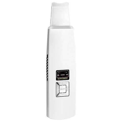 Limpador Facial Bcare Ultrasonic Ionic Skin Scrubber Recargable - Blanco